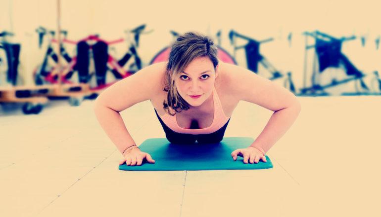 Wer kein Bock hat, raus zu gehen, sucht sich eben Training für zu Hause. ©Nina-Carissima Schönrock