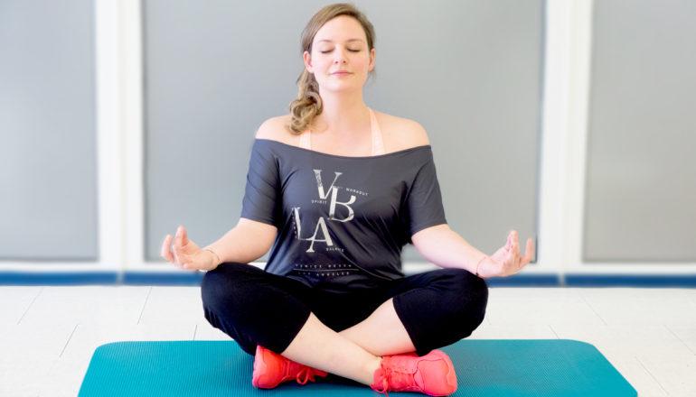 Ja, Yoga-Challenge und ich. Das ist was. ©Nina-Carissima Schönrock