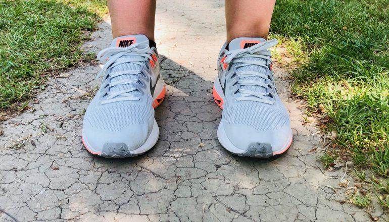 Ich war laufen. Mit meinen neuen Freunden, den Schuhen. ©Nina-Carissima Schönrock