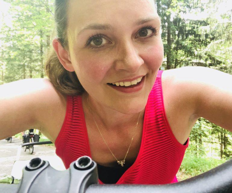 Wer hätte das gedacht, ich finde am Fahrradfahren richtig Spaß! © www.ichmachdannmalsport.de/Nina-Carissima Schönrock