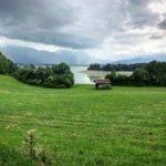 Blick auf den Forggensee in Höhe Dietringen. © www.ichmachdannmalsport.de/Nina-Carissima Schönrock