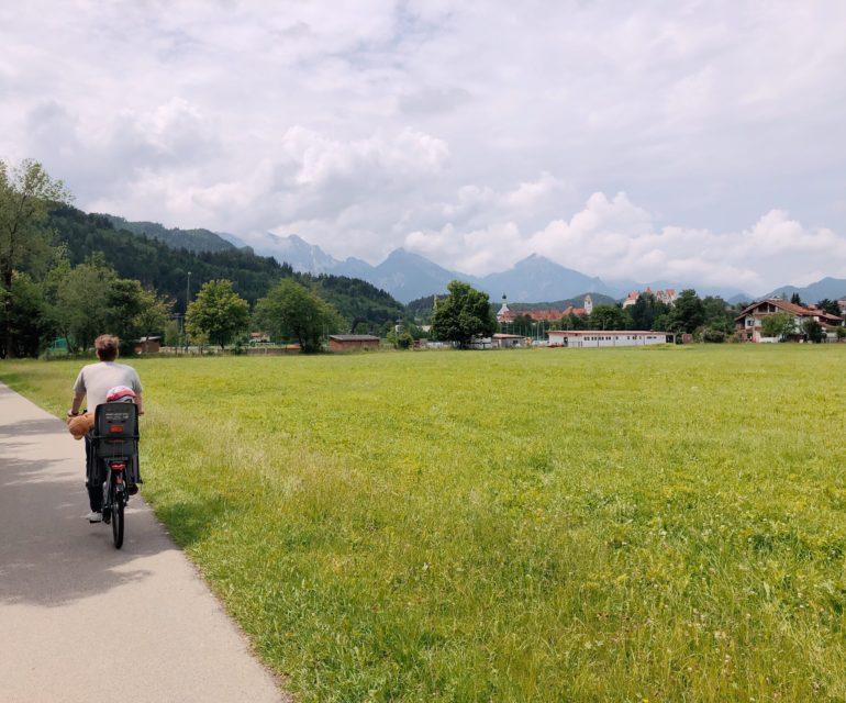 Wer in Füssen startet, hat jede Menge Radstrecken zur Auswahl. © www.ichmachdannmalsport.de/Nina-Carissima Schönrock