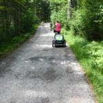 Mein Mann schaut sich das mit mir und Fahrrädern lieber aus sicherer Entfernung an. © www.ichmachdannmalsport.de/Nina-Carissima Schönrock