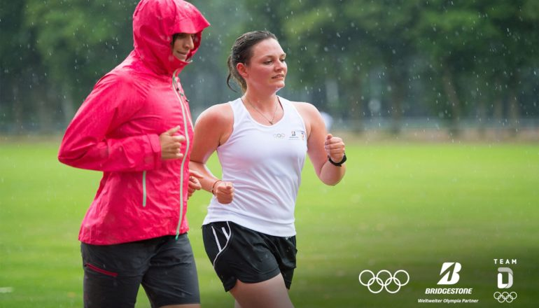 Laufen ist wie fliegen - mit der richtigen Technik. ©Bridgestone