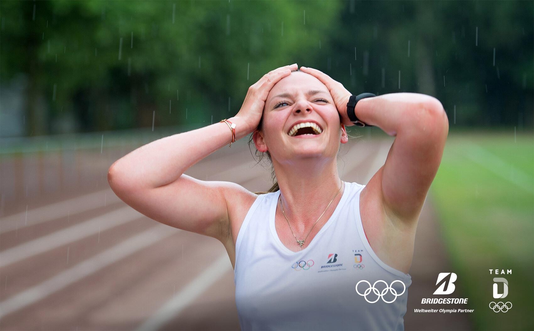 Mich selbst wieder finden durch Spaß am Sport - das ist eines meiner Ziele. ©Bridgestone