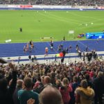 Robert Harting, Olympiasieger im Diskuswerfen, feierte seinen Abschied.