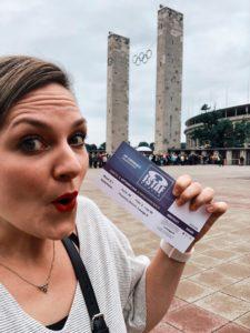 Nina-Carissima Schönrock, Olympiastadion
