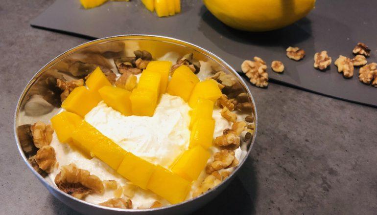 Quark mit Mango