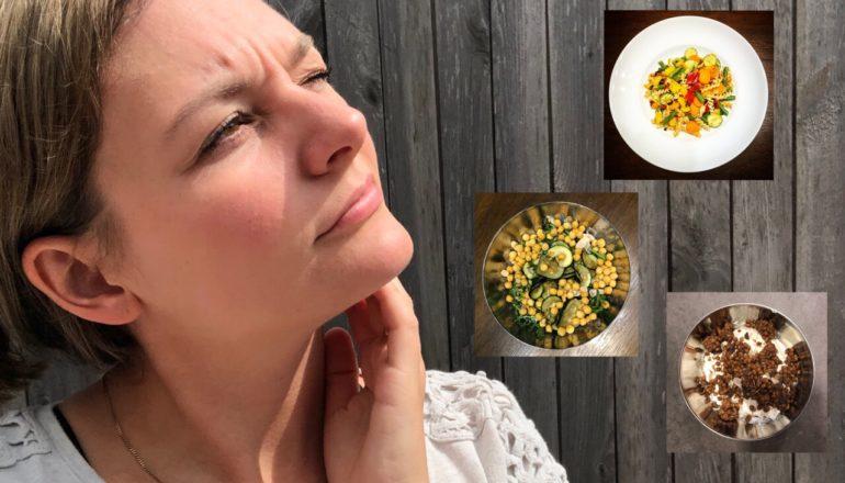 Eiweiß Ernährung Frau