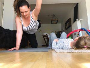 Yoga Challenge 2019 mit Kind