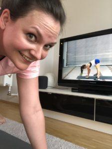 Yoga Challenge 2019 mit Nina