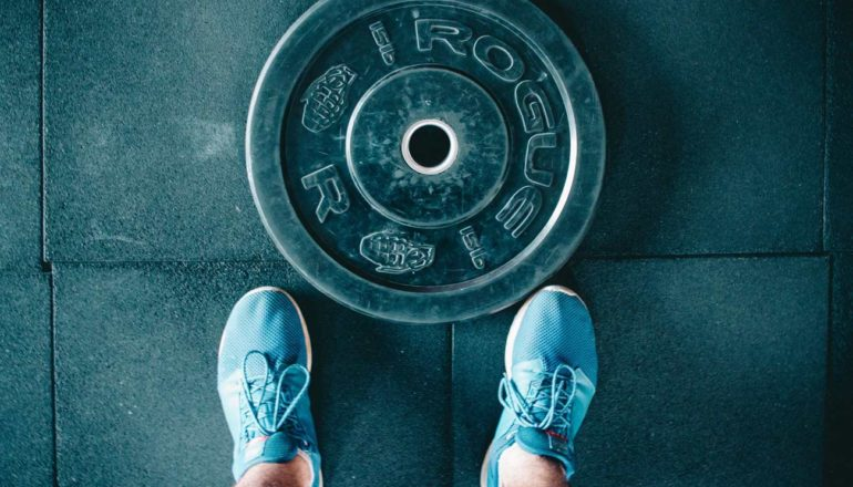 Sport süchtig, Gewicht, Sportschuhe