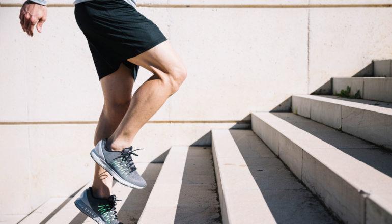 10000 Schritte am Tag, Treppensteigen, Sport