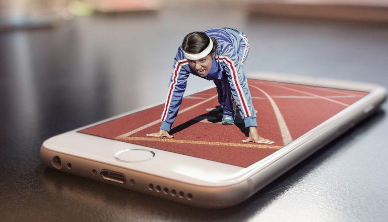 Suchmaschine für Sport, Sport-App