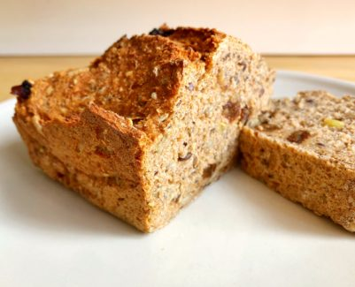 3-Minuten-Dinkelbrot, gesundes Brot