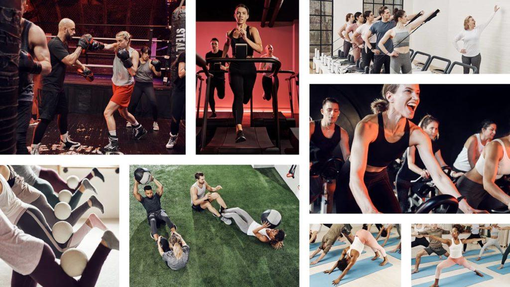 ClassPass, Fitnessstudio, Fitnesskurse