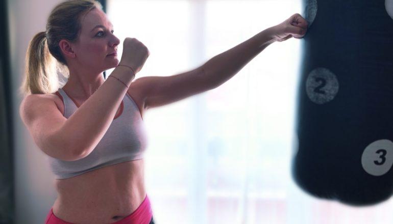 Nina-Carissima Schönrock, Boxen, Boxsack, Ich mach dann mal Sport