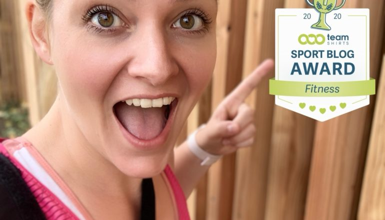 Sport-Blog des Jahres 2020, Nina-Carissima Schönrock, Ich mach dann mal Sport, TeamShirts, Award