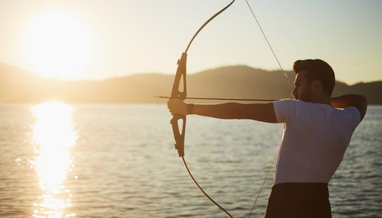 Bogenschießen, Bogensport, Bogenschießen für Sportanfänger