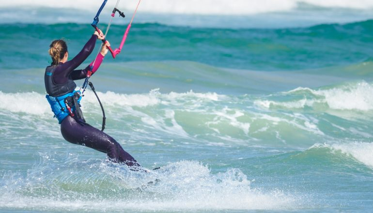 Kitesurfen, Sportart, Surfen, Wasser, Meer